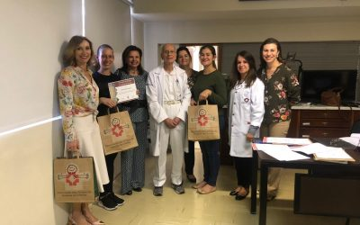 Centro de Neuropediatria do HC recebe doações das Amigas de Asas