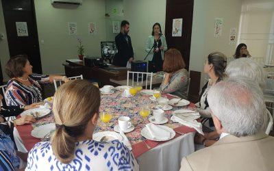 Café da manhã apresenta o Programa Dedica dos Amigos do HC
