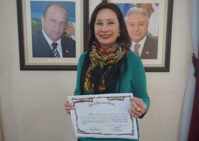 Diploma em reconhecimento pela participação na Tribuna Livre.