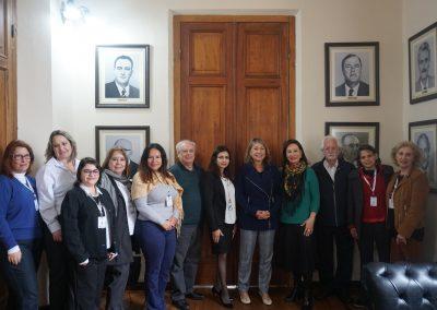 Dr. Luci e representantes do Programa Dedica na CMC.