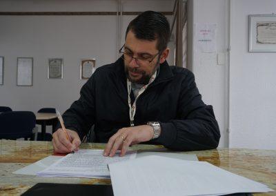 Chefe do Setor de Infraestrutura Física do Complexo Hospital de Clínicas, Washington Batista de Souza.