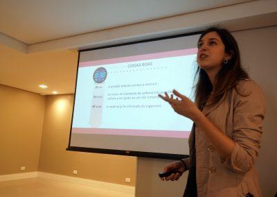 Dra. Mariana Sponholz Araujo, médica pneumologista do Complexo Hospital de Clínicas da UFPR.