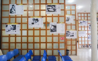 Exposição fotográfica e rodas de conversa marcam a campanha Agosto Dourado