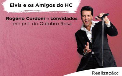 Elvis e os Amigos do HC fazem show em prol do Outubro Rosa